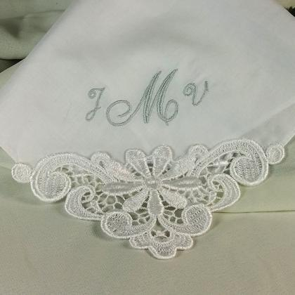 Monogram Wedding Mother of the Brid..